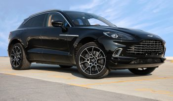 ASTON MARTIN DBX 4.0L TWIN TURBO A/T PTR
